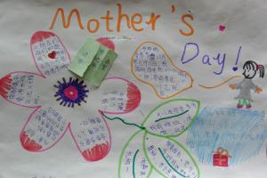 mother's day手抄報圖欣賞